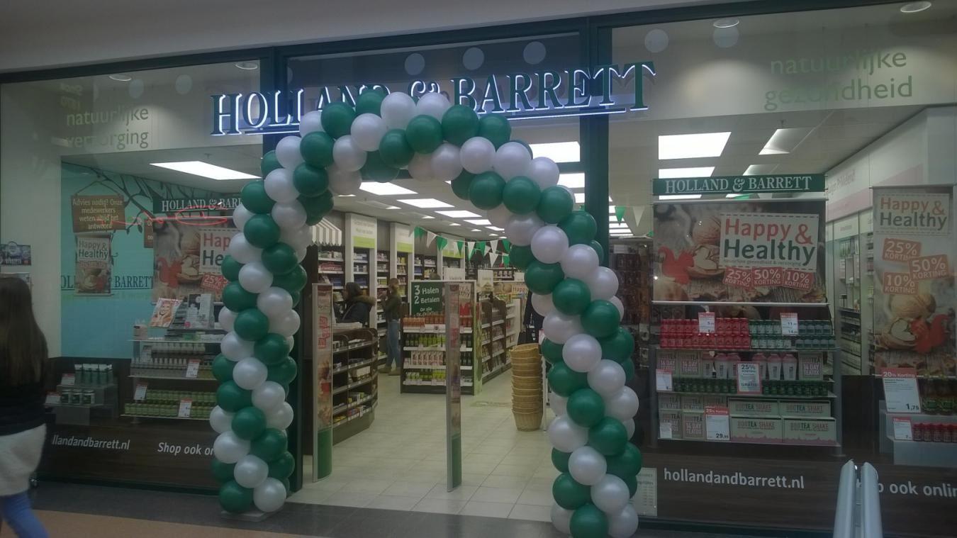 5 nieuwe winkels voor Holland & Barrett!