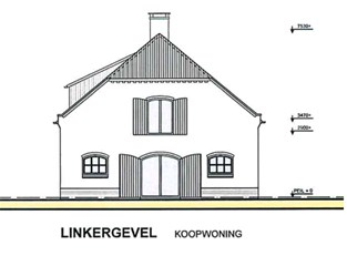 Linkergevel