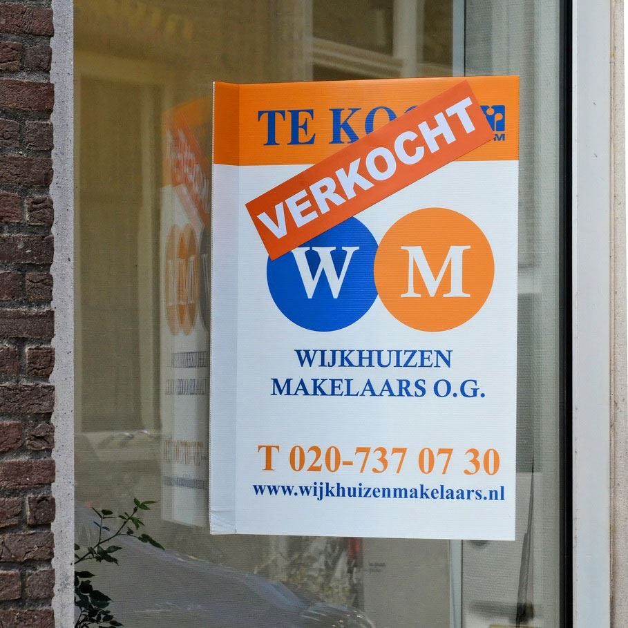 Selling your house in Amsterdam through broker Wijkhuizen