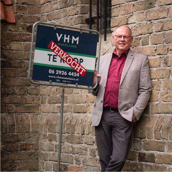 Lammert van der Kooi werkzaam als makelaar bij VHM makelaars Friesland