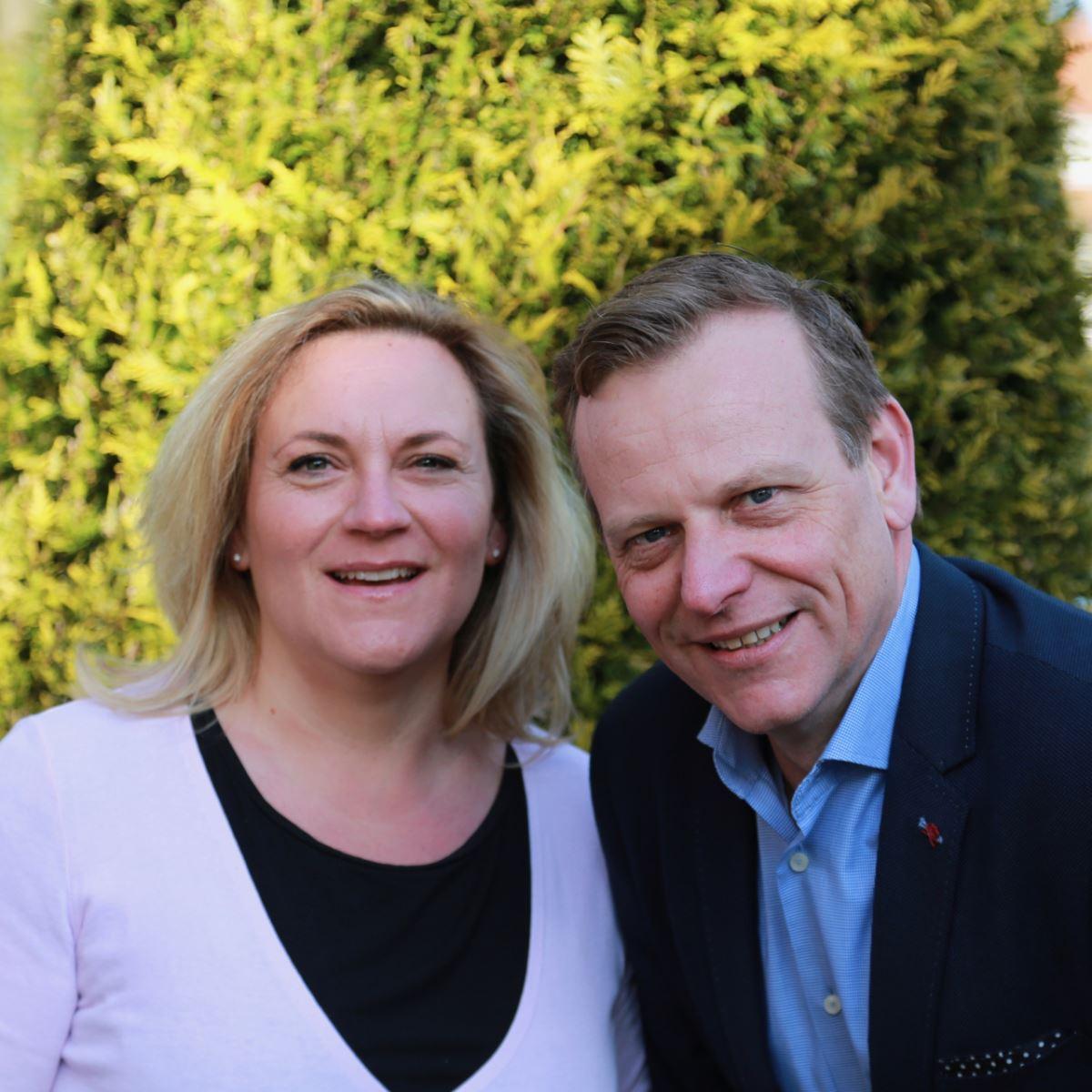 Barbara en Mark
